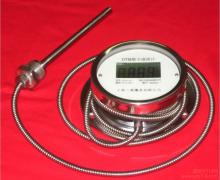 金属软管连接数字温度计