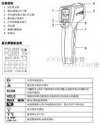EXTECH IR201A袖珍红外线温度计操作说明